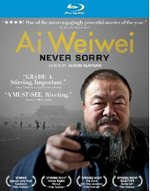 Ai Weiwei: Never Sorry Blu-Ray Cover