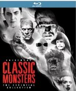 Universal Classic Monsters: Th Essential Collection Blu-Ray Cover