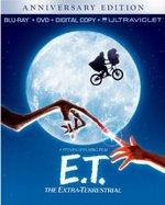 E.T. The Extra-Terrestrial Anniversary Edition Blu-Ray Cover