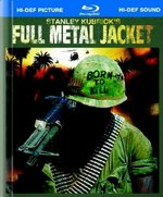 Full Metal Jacket 25th Anniversary Blu-Ray Cover