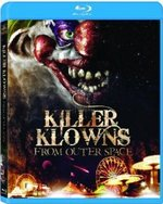Killer Klowns from Outer Space Blu-Ray Cover
