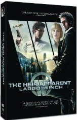 The Heir Apparent: Largo Winch DVD Cover