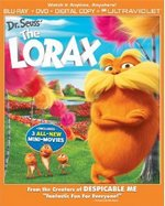 The Lorax Blu-Ray/DVD Combo Cover