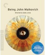 Being John Malkovich Criterion Collection Blu-Ray Cover