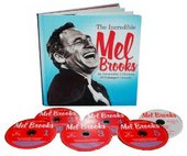 The Incredible Mel Brooks: An Irresistible Collection of Unhinged Comedy DVD Collection