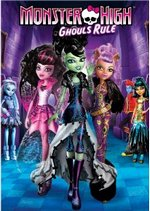 Monster High Ghouls Rule DVD Cover