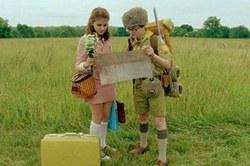 Kara Hayward and Jared Gilman in Wes Anderson's Top 2012 Film, Moonrise Kingdom.