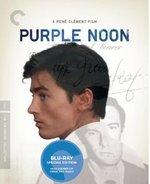 Purple Noon Criterion Collection Blu-Ray Cover
