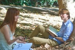 Zoe Kazan and Paul Dano in Ruby Sparks