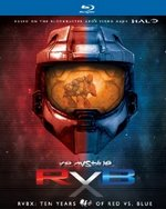 RVBX: Ten Years of Red vs. Blue Blu-Ray Cover