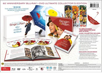 Special Edition Features of the Singin' In the Rain 60th Anniversary 3-Disc Ultimate Collector's Edition