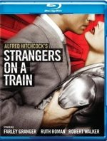 Strangers on a Train Blu-Ray Cover