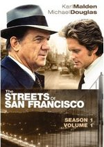 The Streets of San Francisco Season 1, Vol. 1 DVD Cover