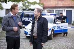 Still from Wallander with Krister Henriksson