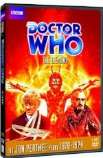 Doctor Who 'The Daemons' DVD Cover