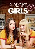 2 Broke Girls: The Complete Second Season DVD Cover