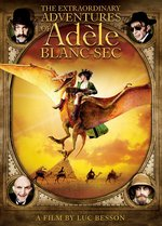 The Extraordinary Adventures of Adele Blanc-Sec DVD Cover