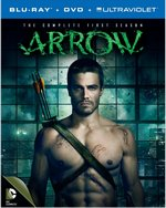 Arrow: The Complete First Season Blu-Ray Cover