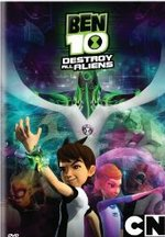 Ben 10: Destroy All Aliens DVD Cover