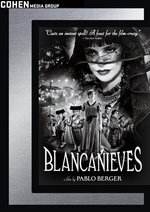Blancanieves DVD Cover