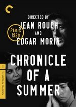 Chronicles of a Summer Criterion Collection DVD Cover