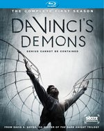 Da Vinci's Demons - The Complete First Season Blu-Ray Cover