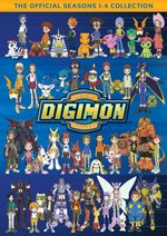 Digimon: The Official Seasons 1-4 Collection DVD Cover