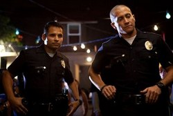 Michael Pena and Jake Gyllenhaal in a top action film from 2012, End of Watch