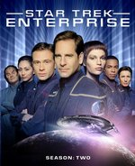 Star Trek: Enterprise — The Complete Second Season Blu-Ray Cover