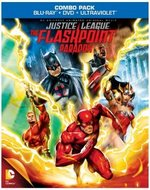 Justice League: The Flashpoint Paradox Blu-Ray Cover