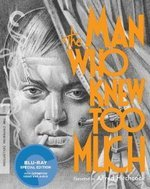 The Man Who Knew Too Much Criterion Collection Blu-Ray Cover