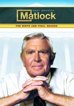 Matlock: The Ninth and Final Season DVD Cover