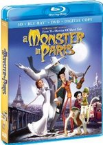 A Monster in Paris Blu-Ray Cover