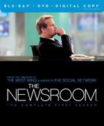 The Newsroom: The Complete First Season Blu-Ray Cover