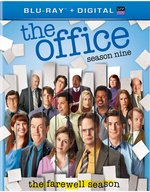 The Office Season Nine Blu-Ray Cover
