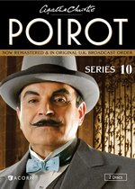 Agatha Christie's Poirot, Series 10 DVD Cover