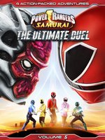 Power Rangers Samurai: The Ultimate Duel Vol. 5 DVD Cover
