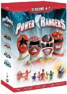 Power Rangers: Seasons 4–7 DVD Cover