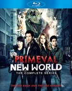 Primeval New World: The Complete Series Blu-Ray Cover