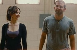 Jennifer Lawrence and Bradley Cooper in the Academy Award-Winning Romantic Drama Silver Linings Playbook