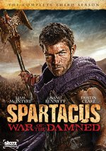 Spartacus: War of The Damned - The Complete Third Season DVD Cover