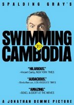 Swimming to Cambodia DVD Cover
