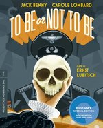 To Be or Not to Be Criterion Collection Blu-Ray Cover