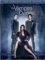 The Vampire Diaries: The Complete Fourth Season DVD Cover