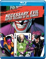 Necessary Evil: Super-Villains of DC Comics Blu-Ray Cover