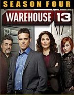 Warehouse 13: Season Four DVD Cover