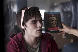 Nicholas Hoult in the zombie rom-com Warm Bodies.