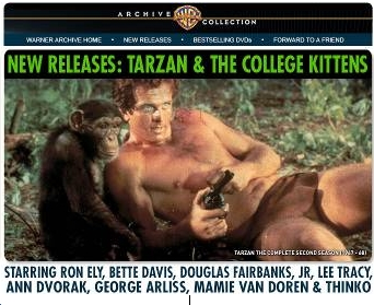 photo for Warner Archives Tarzan and the College Kittens