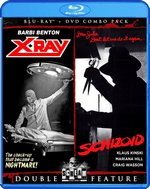 X-ray/Schizoid Double Feature Blu-Ray Cover