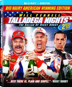 Talladega Nights: The Ballad of Ricky Bobby 10th Anniversary Blu-Ray Cover